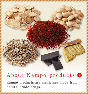 About Kampo products